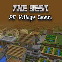 The Best Minecraft PE Village Seeds #mcpe #minecraft pocket edition