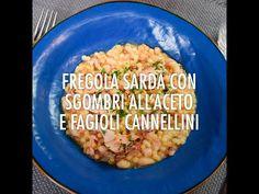 Fregola sarda con sgombri all'aceto e fagioli cannellini    Chef in Camicia