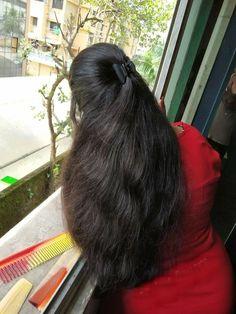 Long Silky Hair, Super Long Hair, Thick Hair, Long Ponytail Hairstyles, Braids For Long Hair, Hair Ponytail, Beautiful Long Hair, Gorgeous Hair, Cheap Human Hair Wigs