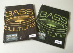 Exclusive Bass Culture Screen Printed Heavyweight Cotton T-shirt Reggae Du