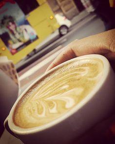 Just watching the world go by... #coffee #coffeetime #coffeelove #coffeelife #coffeegram #sydney #yorkstreet #coffelover #flatwhite #sydneycoffee #langdrinkscoffee #morning #relax #ilovecoffee