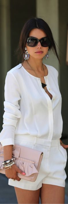 50 Fashionable All White Outfits for Any Season - Trend2Wear