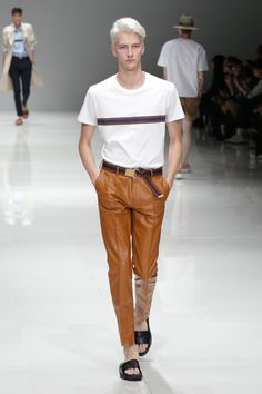 Introduction of my favorite foreign male models. Ivan Bubalo, Leather Fashion, Mens Fashion, Ss 15, Bambam, Male Models, Hot, Gentleman, Tokyo