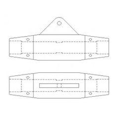 Fixings CAD blocks / CAD drawings