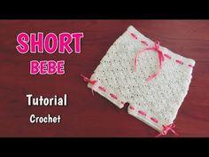 Como tejer un short o cubre pañal para bebe - YouTube