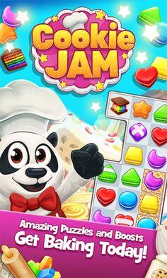 Cookie Jam v5.80.230 (Mod) Apk Mod  Data http://www.faridgames.tk/2016/11/cookie-jam-v580230-mod-apk-mod-data.html