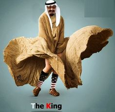 Funny Pictures, Jokes and Gifs / Animations: Funny Picture of Saudi King Abdullah bin Abdulaziz...