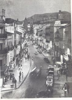 Foto antigua calle Don Fernando de ANTEQUERA (Málaga)