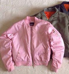jacket bomber jacket bomber-jacket pink