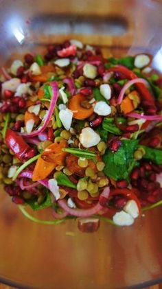 Receita de Salada de Lentilha com Tudão Salada Light, Veggie Recipes, Veggie Meals, Catering, Ale, Food And Drink, Veggies, Cooking, Ethnic Recipes