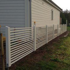 staket - Sök på Google Plank, Fence, Diy And Crafts, Garage Doors, Backyard, Outdoor Structures, Outdoor Decor, Projects, Google