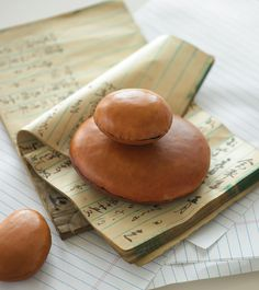 Leather Paperweights // Creative Genius: Blair Stocker, Author of Wise Craft >> http://blog.diynetwork.com/maderemade/2014/09/16/creative-genius-blair-stocker-author-of-wise-craft/?soc=pinterest