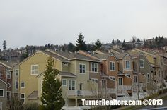 Luxury townhouses in the Forest Heights neighborhood - Portland, Oregon. Walking Paths, Common Area, Portland Oregon, Townhouse, The Neighbourhood, Multi Story Building, Construction, California, Mansions