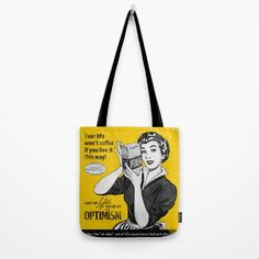 Optimism Tote Bag