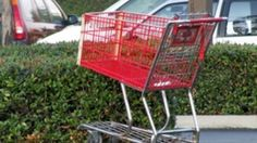 Pulling up to a parking spot and finding a shopping cart there can be pretty frustrating. Why do people ignore the receptacle?