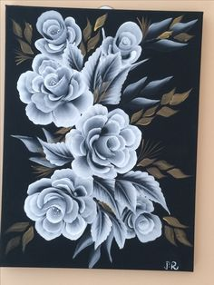 Beautiful Paintings Of Nature, Nature Paintings, Painting Lessons, Painting Techniques, Fabric Painting, Painting & Drawing, Glass Engraving, One Stroke Painting, Bottle Painting