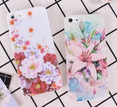 Colourful Peony Lily Flower Floral Iphone Case, Iphone Cases, Peony, Floral Prints, Lily, Flowers, Shell, Colorful, Cover