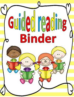 """FREE GUIDED READING BINDER!!!.... Follow for Free """"too-neat-not-to-keep"""" teaching tools & other fun stuff :)"""