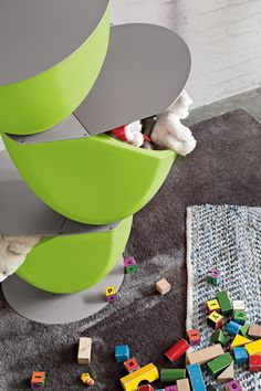 Ecovo #acid #green #Ronda #design #toys