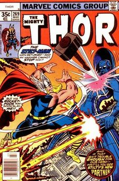 Cover for Thor (Marvel, March Marvel Comic Books, Comic Book Heroes, Marvel Dc Comics, Marvel Heroes, Marvel 2099, Marvel Fan, Marvel Characters, Jack Kirby, Caricature