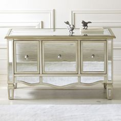 jcpenney - Versailles 3-Drawer Mirrored Chest - jcpenney
