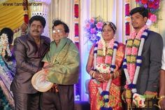 Gana Ulaganathan Daughter wedding Reception Photos - Image 2 of 40