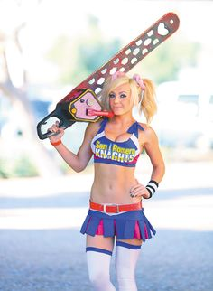 Jessica Nigri as Juliet Starling from 'Lollipop Chainsaw' AMAZING ARIZONA COMIC CON PHOTO