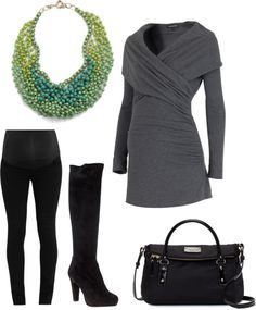 """Work I"" by pregnantchicken on Polyvore #Maternity"