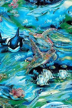 KANAW6ON  North American Wildlife - Turtle Dreams - Ocean