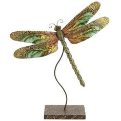 Got it and it's beautiful!! Mini Teal Capiz Dragonfly - Pier 1 - $13