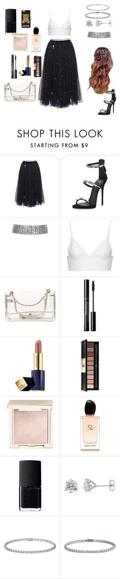"""Untitled #69"" by aseel18 ❤ liked on Polyvore featuring Anouki, Giuseppe Zanotti, T By Alexander Wang, Chanel, Estée Lauder, Yves Saint Laurent, Jouer, Giorgio Armani, NARS Cosmetics and Cartier"