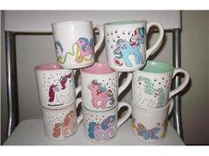 Mlp Ceramic Mugs All My Little Pony, Vintage My Little Pony, Childhood Toys, Childhood Memories, Mlp, My Little Pony Merchandise, Twilight Sparkle, Old Toys, Ceramic Mugs
