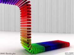Rainbow Glass Jun 2016 Just experiment with the program Cinema  Rendering time this stupid picture: 1233 min. Stupid Pictures, Rainbow Glass, Rainbow Connection, Cinema 4d, Rainbow Colors, All The Colors, Deviantart, Image, Rainbows