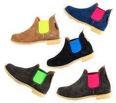 neon boots