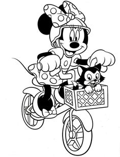 minnie mouse bowtique coloring pages - birthday cakes for 2 year old minnie mouse designs