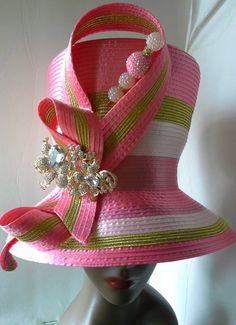 New for the fall @ Harriet Rosebud Hats COGIC Sorors heads up! #followprettypearlsinc AKA 1908