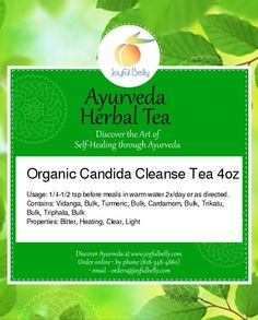 Contains anti-fungals, blood cleansers, and circulatory stimulants to assist in clearing candida from the body.