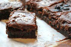 Mjölkchokladbrownies med chokladtryffel - propoints - viktvätkarna - baka viktväktarna - tryffel - hembakat - choklad