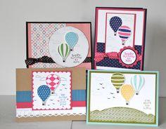 Jill's Card Creations: Up, Up & Away Card kit