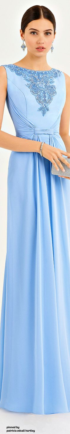 Aire Barcelona - 2017 - In Baby Blue Supernatural Style Evening Dresses, Summer Dresses, Special Dresses, Preppy Style, Beautiful Gowns, Occasion Dresses, Pretty Dresses, Dress To Impress, Fashion Outfits