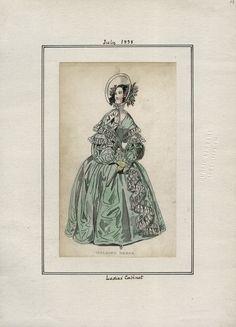 Ladies Cabinet July 1838 LAPL