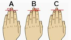 It is unbelievable how much you can discover about your personality by just comparing your ring finger to your index finger. Here are 3 ring and index finger combinations. You can find out which co…