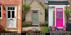 What makes an English Door a cut above the rest? Front Doors, Garage Doors, Cut Above The Rest, Composite Door, Edc, English, Outdoor Structures, Outdoor Decor, House Ideas