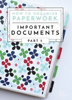 How to Organize Paperwork Organize all your personal identification documents into a Personal Documents Binder so they are quick and easy to find while remaining safe and secure! Organizing Paperwork, Binder Organization, College Organization, Household Organization, Organizing Documents, Organizing Important Papers, Organizing Life, Bedroom Organization, Organising