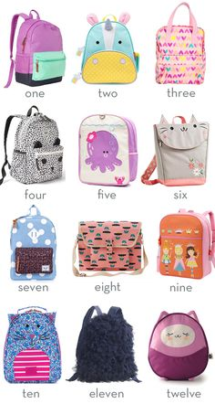 little style // backpacks for kids