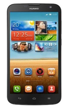 """8% Off was $195.55, now is $179.55! Huawei Ascend G730 (Black) 5.5"""" GSM 3G (Factory Unlocked) Quad Core Android Phone"""