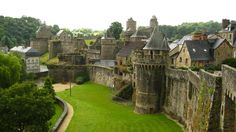 Fougeres, France  Newly added destination to my list of places I'd like to see.