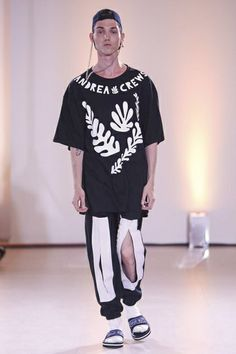 Andrea Crews Menswear Spring Summer 2015