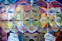 Masks by Carlos Cabán http://carloscaban.hypercube.media/https://www.facebook.com/carlos.caban.7