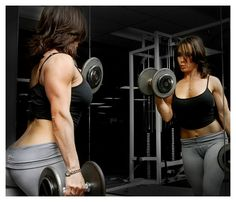 Dumbbells, barbells, machines, cables, and overall resistance training doesn't have to bulk you up. Weight training tones, as you see here America's Hottest Fit Mom brand creator, Nita Marquez lifts weights.   www.NitasWorld.com AMERICA'S HOTTEST FIT  Rewarding!! # weight loss http://beckysblog.net/is-this-the-path-you-dream-of/b